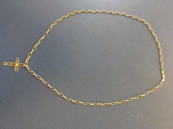 Corrente Cordao Masculino De Ouro 18k 60cm