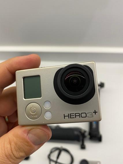 Gopro Hero3+ Silver Com Diversos Acesórios