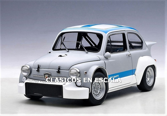 Abarth 1000 Tcr Racing Fiat - Icono Clasico - Autoart 1/18
