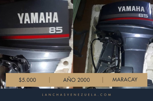 Imagen 1 de 4 de Motor Yamaha 85 Hp Lv653