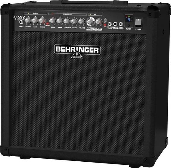 Amplificador De Guitarra Behringer Gtx60 C Efectos