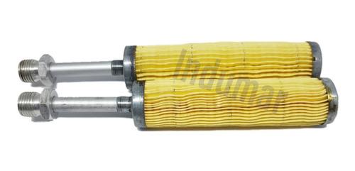 2 Filtros Banana Diesel Motor Yanmar B8 B9 B10 Nb10 Nb13 Nt
