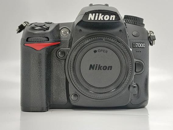 Nikon D7000 Corpo 27 Mil Cliques Impecável