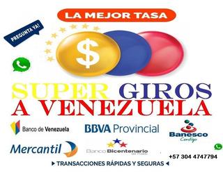 Giros A Venezuela Desde Colombia - Trasferencias Directas