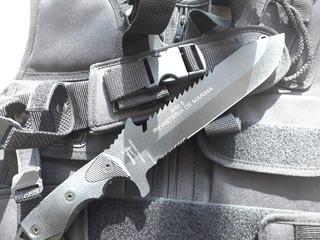 Cuchillo Yarara Bim5 Tactico Supervivencia Outdoor Caza Batallon De Infanteria De Marina