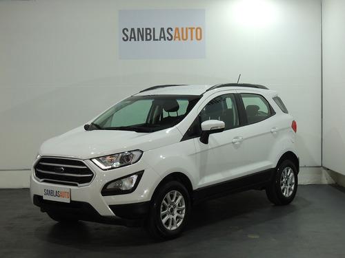 Ford Ecosport 2017 1.5 N Se Mt 5p Abs Aa Usb San Blas Auto