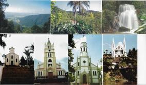 Brasil Lote Com 200 Cartões Postais Nacionais Diferentes