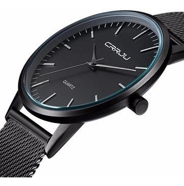 Relógio Crrju 2117- Masculino- Ultra Fino- (pronta Entrega)