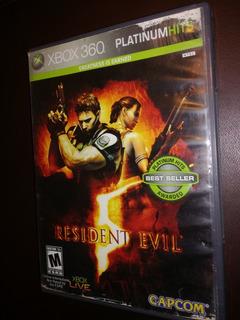 Juego Xbox 360 Resident Evil 5