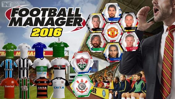 Mega Pack Faces Logos P/ Football Manager 2016
