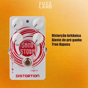 Pedal Para Guitarra Caline Sand Storm Distortion