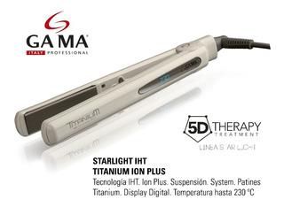 Plancha P/cabello Gama Starlight D Iht Titanium