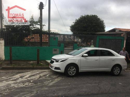 Imagem 1 de 1 de Terreno Com Casa Velha Vila Miriam - Te0338