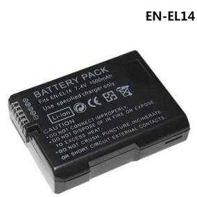 Bateria En-el14 Enel14 Nikon D3100 D3200 D5100 D5200 D5300