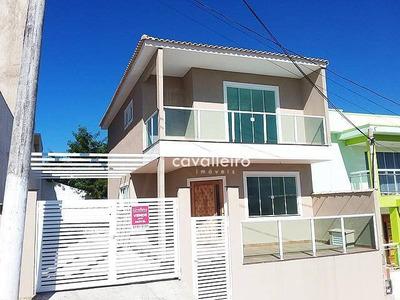 Linda Casa Duplex, Em Condomínio No Arsenal !!! - Ca2018