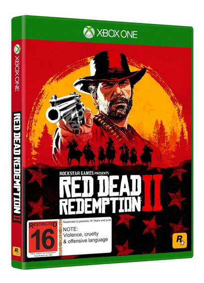 Red Dead Redemption Xbox One Mídia Física - Usado