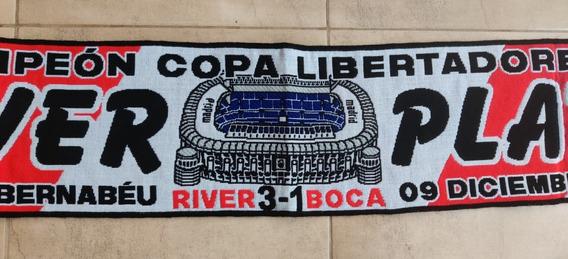 Bufanda River Copa Libertadores 2018 Bernabeu - Madrid