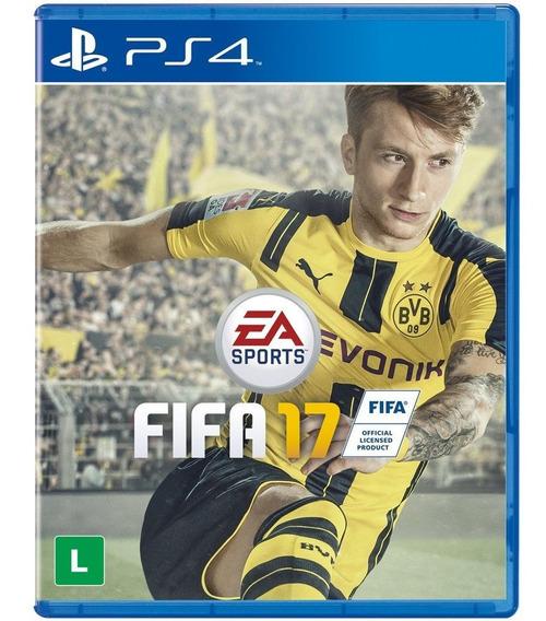 Jogo Fifa 17 - Ps4 - Playstation 4 - Mídia Física