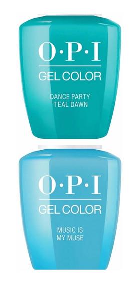 Esmalte Semipermanente Uñas Opi Gel Color Cabina X1un Led/uv