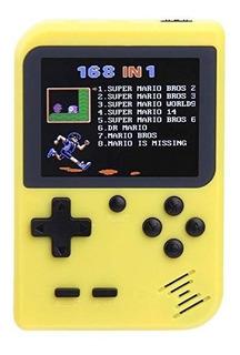 Retro Consola Portatil Tipo Gameboy 168 Juegos Recargable