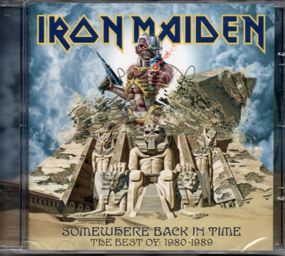 Cd Iran Maiden - Somewhere Back In Time The Best Of:1980-98