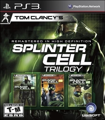 Jogo Splinter Cell Trilogy Playstation 3 Ps3 Mídia Física