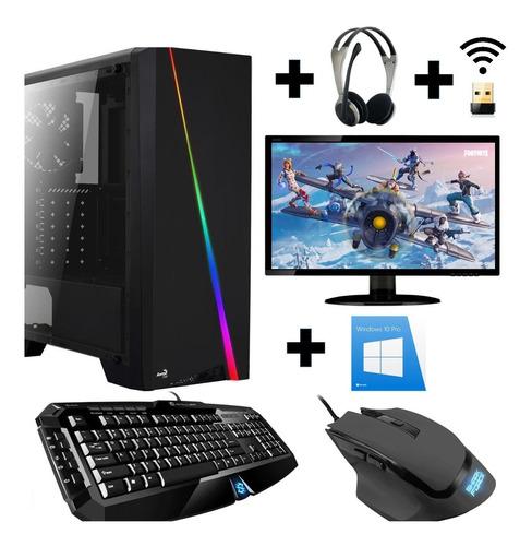 Gamer Pc With Monitors Intel I9-9900k
