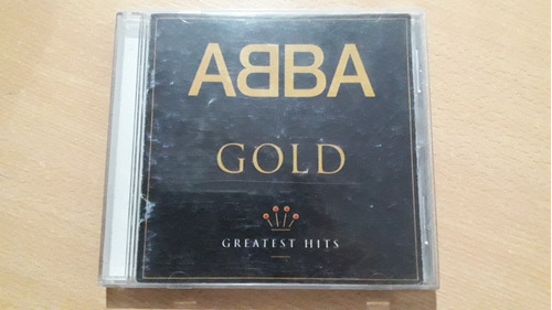 Cd  Abba Gold Greatest Hits Año: 1992