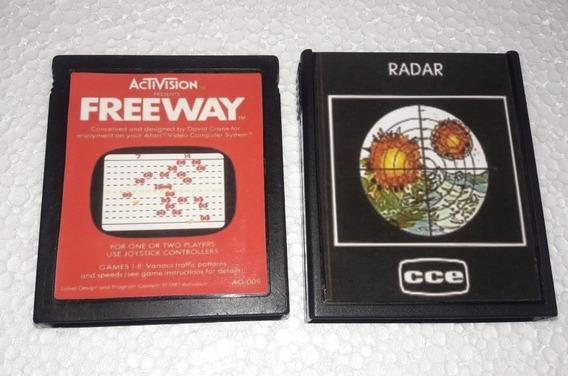 Freeway / Radar Para Atari 2600 E Compatíveis.