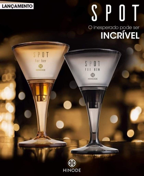 Kit 2 Perfume Exclusivo Spot For Him E For Her Hinode - 75ml