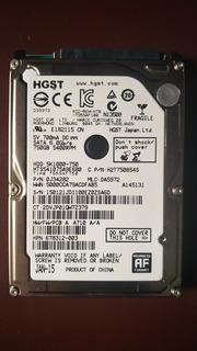 Disco Duro Hgst Japan Ltd De 750gb