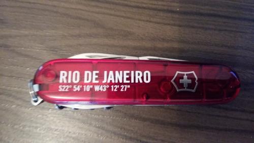 Canivete Spartan Rio De Janeiro Victorinox -frete Grátis