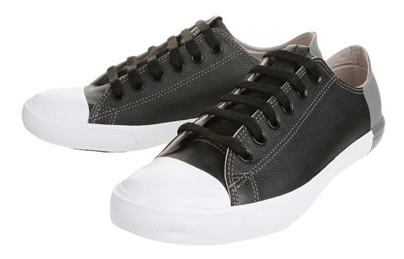 Zapatillas De Cuero Negras Hush Puppies No Converse Talle41