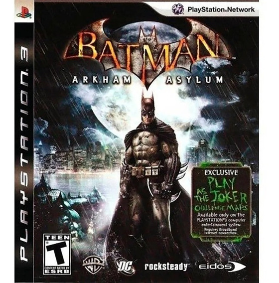 Batman - Arkham Asylum Ps3 Semi-novo