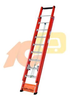 Escada Extensível Rebitada Fibra 6m X 19 Degraus