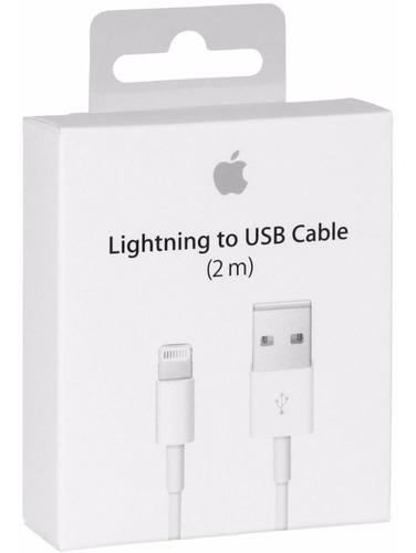 Cable Original Apple iPhone XS X 8 7 6 5 iPad 2m Metros ®