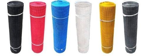 Malla Plastica Tipo Reja Diferentes Colores Rollo 1 X 30 Mt
