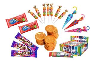 012 - Combo Golosinas Cumpleaños - Lollipop - 10 Chicos