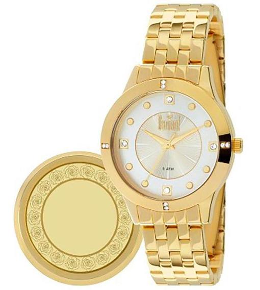 Relógio Dumont Feminino Fashion Dourado Du2036lsj/k4d