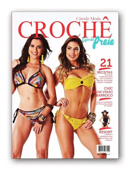 Revista Circulo Moda Croche Especial Praia Nº5