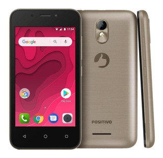 Smartphone Positivo Twist Mini S431 8gb 5mp Tela 4 Dourado