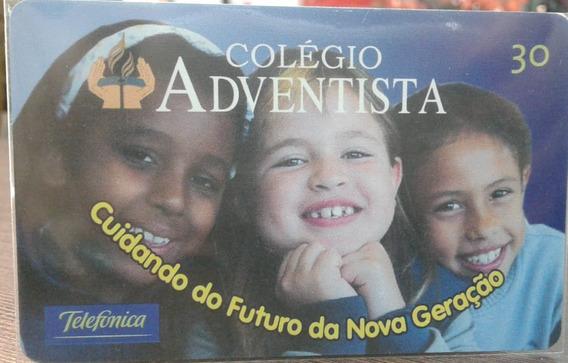 Mídia : Colégio Adventista Telefônica - R$ 4,20 Reais 11.000