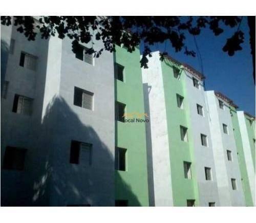 Imagem 1 de 4 de Apartamento Com 2 Dormitórios À Venda, 44 M² Por R$ 160.000,00 - Jardim São Luis - Guarulhos/sp - Ap0737