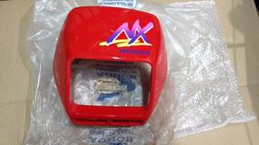 Carenagem Farol Nx 150 Vermelha 92/93 Com Adesivo Original