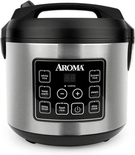 Aroma Housewares Arc-150sb - Olla De Arroz Digital (20 Tazas
