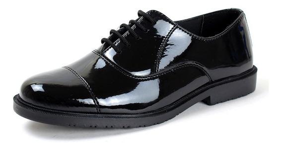 Sapato Militar Escolar Adulto Masculino