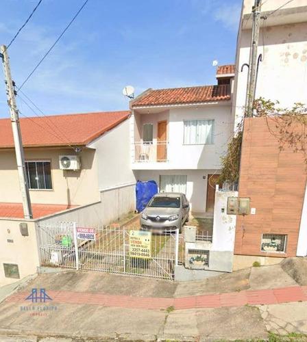 Sobrado Com 2 Dormitórios À Venda, 68 M² Por R$ 195.000,00 - Forquilhas - São José/sc - So0006