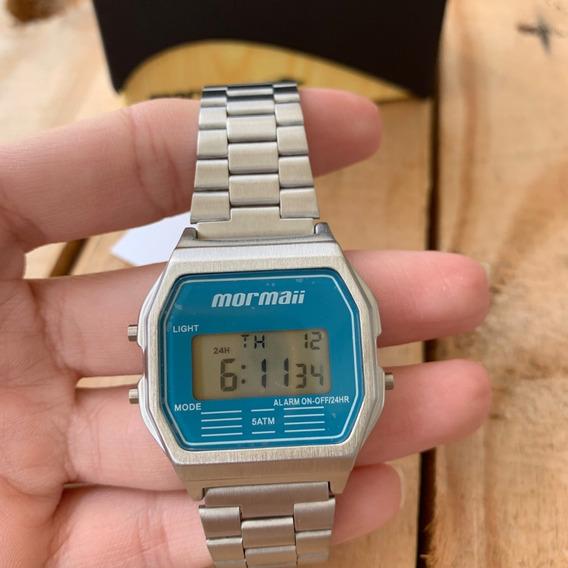 Relógio Mormaii Vintage Unissex Prata Mojh02az/3a