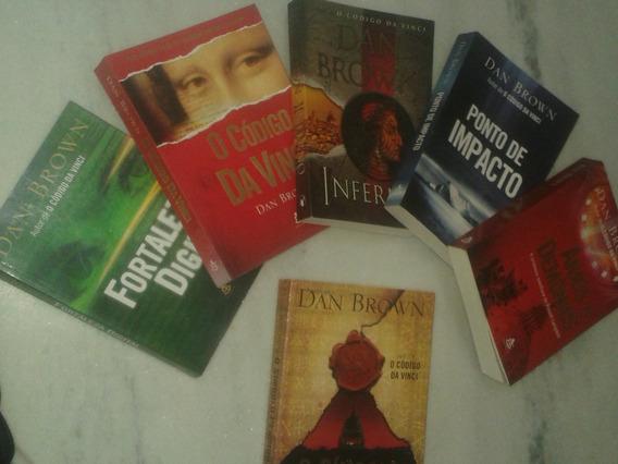 Coleção Dan Brown - Lote Com 6 Livros
