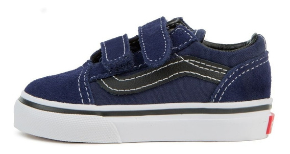 Zapatillas Vans Nene Old Skool V Azul Oscuro
